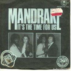Discos de vinilo: MANDRAKE / IT'S THE TIME FOR US / DISCO MAGIC (SINGLE CARANBY 1977). Lote 293476673