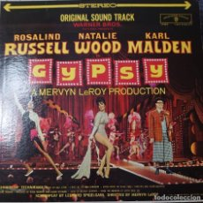 Discos de vinilo: ROSALIND RUSSELL Y NATALIE WOOD BANDA SONORA DE LA PELÍCULA GYPSY LP EDITADO EN USA POR EL...... Lote 293507353
