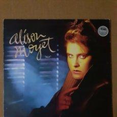 Discos de vinilo: ALISON MOYET. ALF. 1984, ENGLAND. CBS 26229. DISCO VG+. CARÁTULA VG (DESGASTE EN BORDES Y LOMO). Lote 293507423