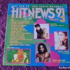 Discos de vinilo: HIT NEWS 91 VOLUME 3, VINILO,LP 1991 ROXETTE FRANK ZAPPA LENNY KRAVITZ .... Lote 293511823