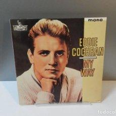 Discos de vinil: DISCO VINILO LP. EDDIE COCHRAN – MY WAY. 33 RPM.. Lote 293521858