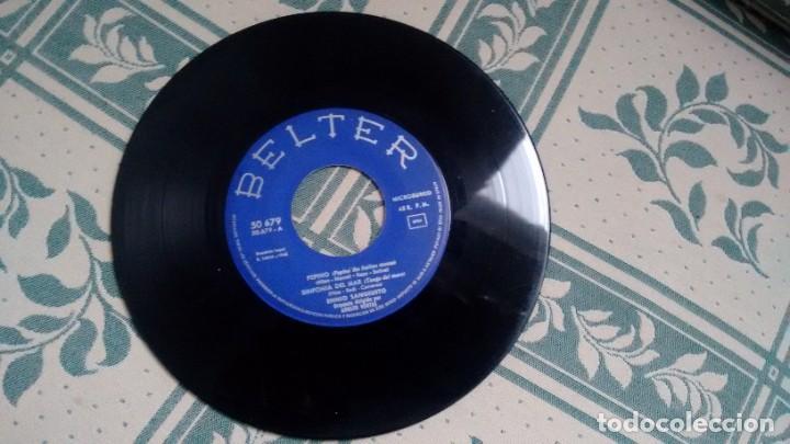 E.P. ( VINILO) DE ENNIO SANGIUSTO AÑOS 60 ( SIN FUNDA) (Música - Discos de Vinilo - EPs - Canción Francesa e Italiana)