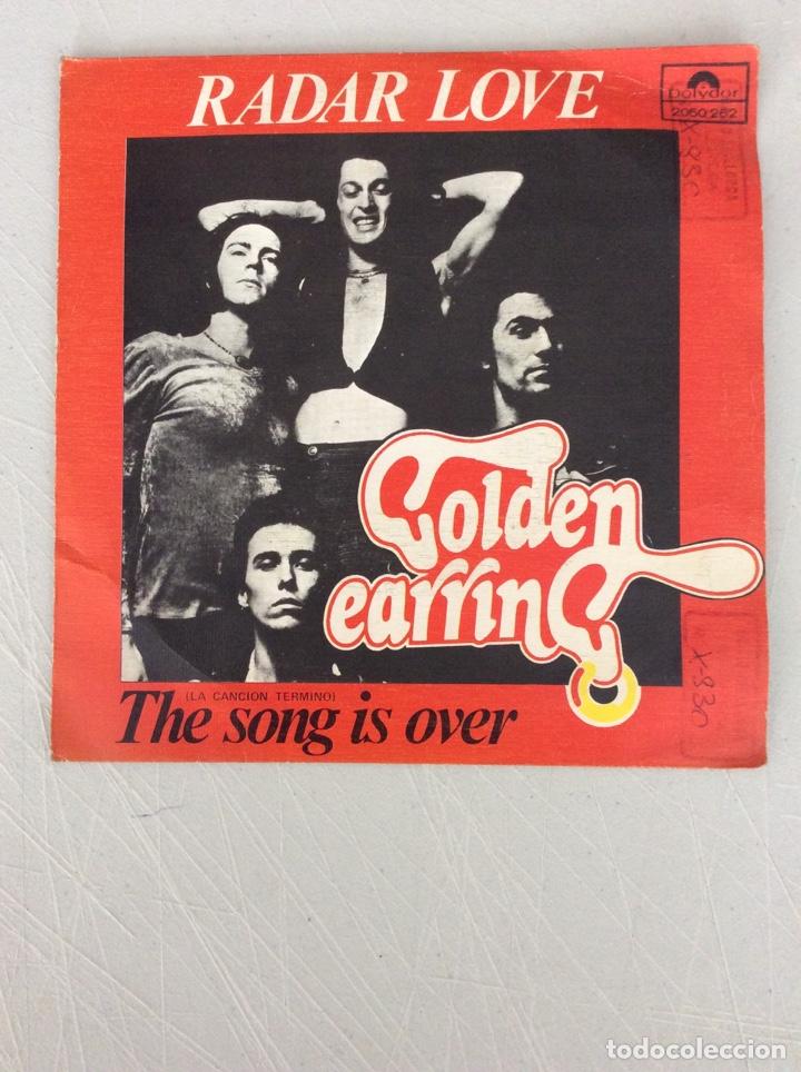 RADAR LOVE. GOLDEN EARRING. THE SONG IS OVER. (Música - Discos - Singles Vinilo - Otros estilos)