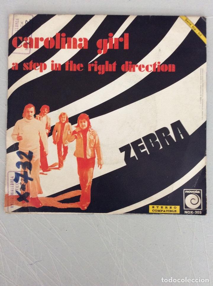 Discos de vinilo: Carolina Girl. A step in the right direction. Zebra - Foto 2 - 293544433