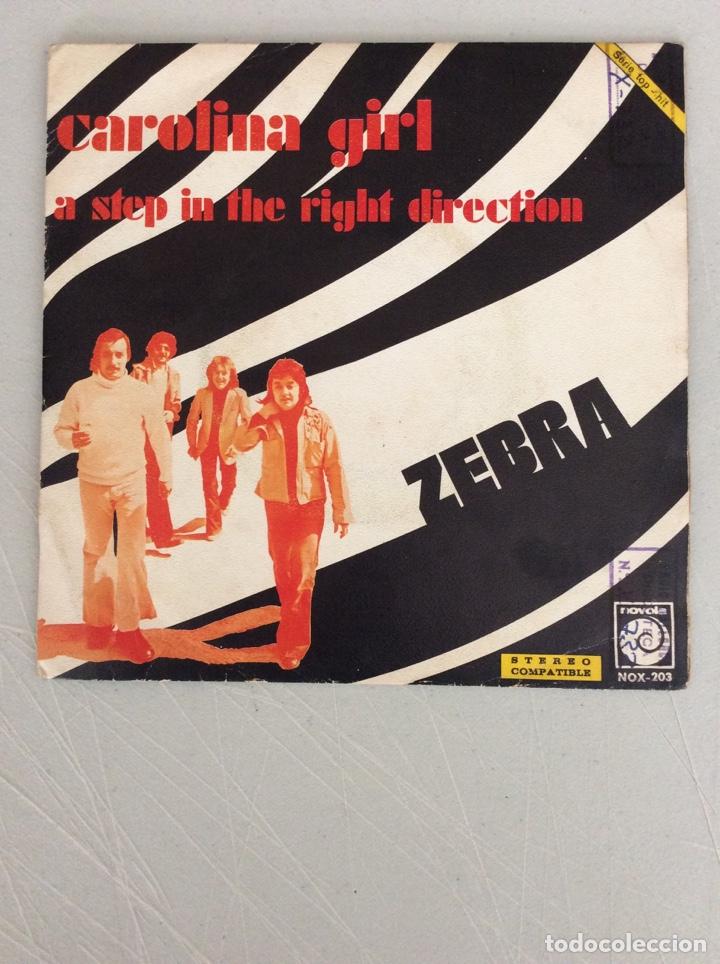 CAROLINA GIRL. A STEP IN THE RIGHT DIRECTION. ZEBRA (Música - Discos - Singles Vinilo - Otros estilos)