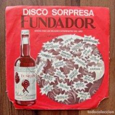 Discos de vinilo: EP RAPHAEL QUE NO ME DESPIERTE NADIE - DISCO SORPRESA FUNDADOR - 1970. Lote 293570033