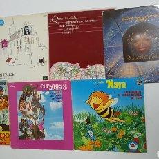 Discos de vinilo: LOTE 7 VINILOS. Lote 293585093