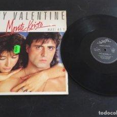 """Discos de vinilo: MONTE KRISTO – LADY VALENTINE - 12"""" ORIGINAL FRANCIA - EURO DISCO - ITALO DISCO. Lote 293601048"""