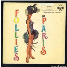 Discos de vinilo: JACQUES YSAYE Y SU ORQUESTA - FOLLIES DE PARIS. Lote 293605258