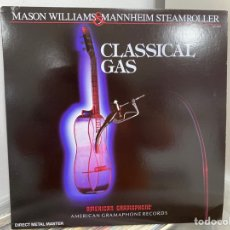 Discos de vinilo: MASON WILLIAMS & MANNHEIM STEAMROLLER - CLASSICAL GAS (LP, ALBUM). Lote 293616973