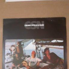 Discos de vinilo: CROSBY, STILLS & NASH. HOLANDA, 1977. ATL 50369. DISCO VG++. CARÁTULA VG+. CON LETRAS.. Lote 293620868