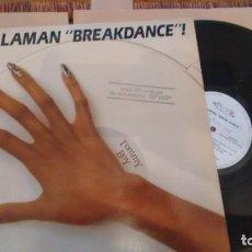 Discos de vinilo: L.P. (VINILO) DE VARIOS LO LLAMAN BREAKDANCE. Lote 293623618