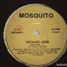 """Discos de vinilo: MOSQUITO – TECH-NO AIDS SELLO: BBB – BBB 00392 FORMATO: VINYL, 12"""". NUEVO. MINT / GENERICA. Lote 293624238"""
