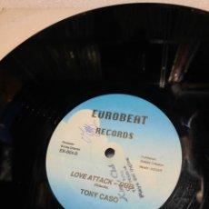 Discos de vinilo: TONY CASO – LOVE ATTACK. EDICION USA. Lote 293625628