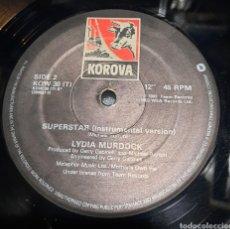 Discos de vinilo: LYDIA MURDOCK - SUPERSTAR. Lote 293627343