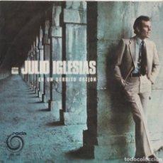 Discos de vinil: JULIO IGLESIAS - EN UN BURRITO OREJÓN (EDITADO EN PORTUGAL). Lote 293628078