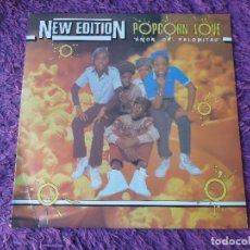 Discos de vinilo: NEW EDITION – POPCORN LOVE ,VINILO, MAXI-SINGLE 1983 SPAIN 9-29 014. Lote 293629133
