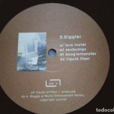 "Discos de vinilo: D.DIGGLER – BOOGIEMONSTER. 1999. SELLO: RAUM...MUSIK – MUSIK02. VINYL, 12"". NUEVO. MINT / GENERICA. Lote 293631428"