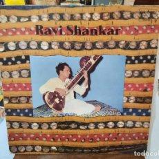 Discos de vinilo: RAVI SHANKAR - DOBLE LP. SELLO TRANSATLANTIC 1983. Lote 293638798