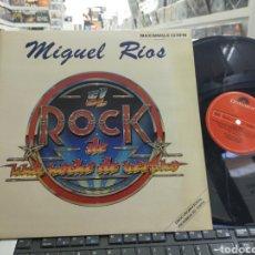 Discos de vinilo: MIGUEL RÍOS MAXI PROMOCIONAL EL ROCK DE UNA NOCHE DE VERANO 1983 EN MUY BUEN ESTADO. Lote 293643963