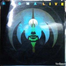Dischi in vinile: MAGMA - LIVE - 2 LP`S 1976 JAZZ ROCK DOBLE GRUPO DE CHRISTIAN VANDER CARPETA DOBLE Y DOS LP`S EN. Lote 293644308