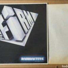 """Discos de vinilo: * MAXI-SINGLE. RADIOACTIVE VINILO DE SU ÁLBUM """" THE FIRM"""". GRABACIÓN ORIGINAL. Lote 293646553"""