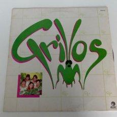 Discos de vinilo: VINILO AÑOS 80 LOS GRILLOS.MÉXICO.BUEN ESTADO, VER FOTOS.4,36 ENVÍO CERTIFICADO.. Lote 293648578