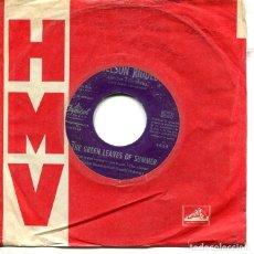 Discos de vinilo: NELSON RIDDLE / THE GREEN LEAVES OF SUMMER / DEGUELLO (BSO EL ALAMO) SINGLE CAPITOL 1961). Lote 293648913