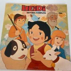 Dischi in vinile: VINILO DE 1987 HEIDI HISTORIA COMPLETA.BUEN ESTADO, VER FOTOS.4,36 ENVÍO CERTIFICADO.. Lote 293651093