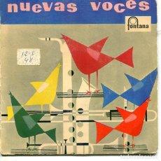 Discos de vinilo: NUEVAS VOCES (LOS CINCO LATINOS) - (RICARDO YARK) EP FONTANA 1958. Lote 293651758