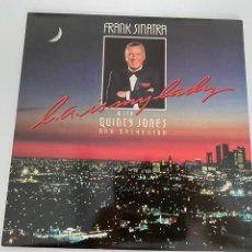 Discos de vinilo: VINILO 1984 FRANK SINATRA QUINCY JONES.BUEN ESTADO, VER FOTOS.4,36 ENVÍO CERTIFICADO.. Lote 293652793