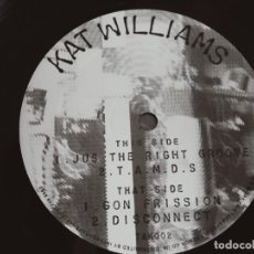 "Discos de vinilo: KAT WILLIAMS – JUS THE RIGHT GROOVE.1999. TAK RECORDS – TAK 002 (12""). VG+ / GENERICA. Lote 293652958"