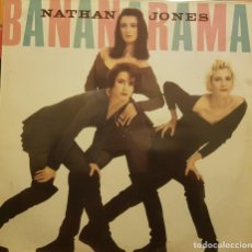 Discos de vinilo: BANANARAMA - NATHAN JONES. Lote 293654913