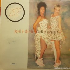 Discos de vinilo: PEPSI & SHIRLIE - GOODBYE STRANGER. Lote 293662038