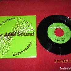 Discos de vinilo: THE ABN SOUND - ROCKIN INTERESTS - HOLLAND - ABN BANK - L -. Lote 293662508