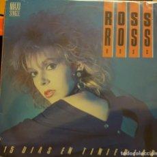 Discos de vinilo: ROSS ROSS - 15 DIAS EN TINIEBLAS. Lote 293663858