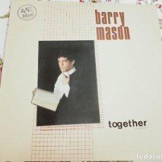 Discos de vinilo: BARRY MASON – TOGETHER = JUNTOS. 1984.VICTORIA – VIC-166. NUEVO. MINT / NEAR MINT. Lote 293664028