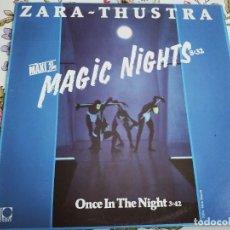 """Discos de vinilo: ZARA-THUSTRA – MAGIC NIGHTS.1986. SELLO: PDI – B-20.986 (12"""") NUEVO. MINT / NEAR MINT. ITALO DISCO. Lote 293666648"""
