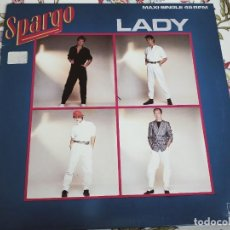 "Discos de vinilo: SPARGO – LADY.1984. SELLO: ARIOLA – F-601.238. VINYL, 12"". NUEVO. MINT / NEAR MINT. ESTILO DISCO. Lote 293674818"