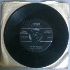 Discos de vinilo: DAMIANO. NO NO MAMMA/ ARRIVEDERCI NAPOLI. OLYMPIA SINGLE MUY RARO. Lote 293675328