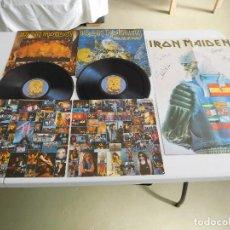 Dischi in vinile: IRON MAIDEN. 2 LP. LIVE AFTER DEATH. EDICIÓN ORIGINAL ESPAÑOLA DE 1985 CON POSTER. Lote 293676328