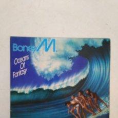Discos de vinilo: BONEY M. OCEANS OF FANTASY LP VINILO. Lote 293677688