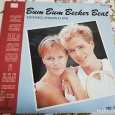 Discos de vinilo: TIE-BREAK – BUM BUM BECKER BEAT (EXTENDED VERSION) BELLAPHON –120·07·171.(12'') NUEVO. MINT / VG+. Lote 293688993