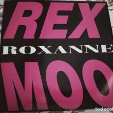 """Discos de vinilo: REX MOO – ROXANNE.1993. SELLO: S.O.B. (SOUND OF THE BOMB) – S.O.B. 166. (12"""").BUENO. NEAR MINT/NM. Lote 293689563"""
