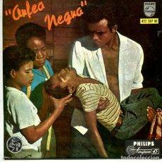 Discos de vinilo: ORFEO NEGRO (BANDA SONORA) FELICIDAD / MAÑANA DE CARNAVAL + 2 (EP HILIPS 1962). Lote 293700673