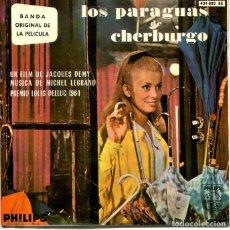 Discos de vinilo: LOS PARAGUAS DE CHERBURGO (BANDA SONORA) EP PHILIPS 1964. Lote 293701358