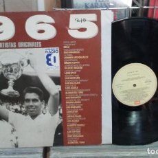 Discos de vinilo: ÉXITOS DE 1965. EMI 1989, REF. 056 7936221 -- LP. Lote 293704408
