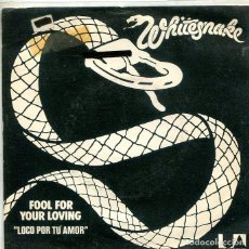 Discos de vinilo: WHITESNAKE / LOCO POR TU AMOR / MEAN BUSINESS / DON'T MESS. (EP LIBERTY 1980) 3). Lote 293705563