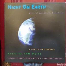 Discos de vinilo: TOM WAITS–NIGHT ON EARTH (ORIGINAL SOUNDTRACK RECORDING. LP VINILO NUEVO.. Lote 293729863