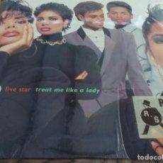 Discos de vinilo: MX. FIVE STAR - GREAT ME LIKE A LADY. Lote 293731088